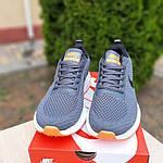 Чоловічі кросівки Nike Flyknit Lunar 3 (сіро-помаранчеві) 10119, фото 7