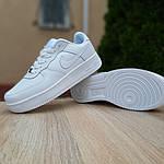 Женские кроссовки Nike Air Force (белые) 20104, фото 4