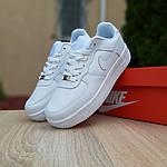 Женские кроссовки Nike Air Force (белые) 20104, фото 5