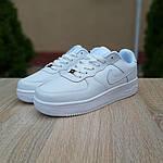 Женские кроссовки Nike Air Force (белые) 20104, фото 6