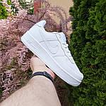 Женские кроссовки Nike Air Force (белые) 20104, фото 7