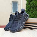 Чоловічі літні кросівки Adidas (чорні) 10120, фото 6
