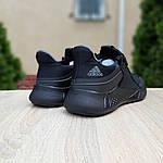 Чоловічі літні кросівки Adidas (чорні) 10120, фото 7