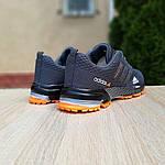 Чоловічі кросівки Adidas Marathon (сіро-помаранчеві) 10123, фото 2