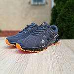 Чоловічі кросівки Adidas Marathon (сіро-помаранчеві) 10123, фото 4
