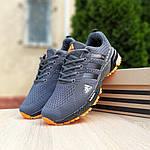 Чоловічі кросівки Adidas Marathon (сіро-помаранчеві) 10123, фото 7