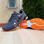 Чоловічі кросівки Adidas Marathon (сіро-помаранчеві) 10123, фото 8