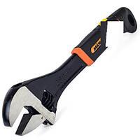 Ключ разводной 150мм (0-20мм) обрезиненная рукоятка