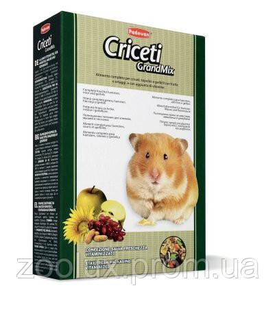 Padovan Grandmix CRICETI для хомяков и мышей 400 гр.