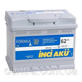 Автомобильный аккумулятор INCI AKU 6СТ-62 FormulA L1 052 046 013