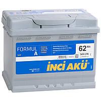 Автомобильный аккумулятор INCI AKU 6СТ-62 FormulA L2 062 054 113