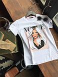 Женская хлопковая футболка с рисунком (различные варианты), фото 5