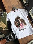 Женская хлопковая футболка с рисунком (различные варианты), фото 3