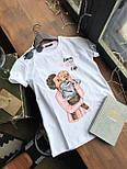 Женская хлопковая футболка с рисунком (различные варианты), фото 9