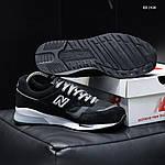 Мужские кроссовки New Balance 1500 (черные) KS 1438, фото 3