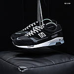 Мужские кроссовки New Balance 1500 (черные) KS 1438, фото 4