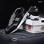 Мужские кроссовки New Balance 1500 (черные) KS 1438, фото 6