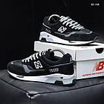 Мужские кроссовки New Balance 1500 (черные) KS 1438, фото 7