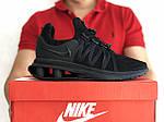 Мужские кроссовки Nike Shox Gravity (черные) 9300, фото 3