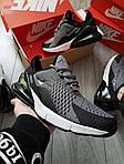 Мужские кроссовки Nike Air Max 270 (серые) 385PL, фото 2