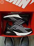 Мужские кроссовки Nike Air Max 270 (серые) 385PL, фото 6