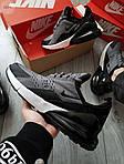 Мужские кроссовки Nike Air Max 270 (серые) 385PL, фото 7