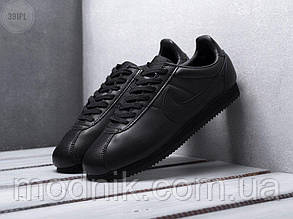 Мужские кроссовки Nike Cortez (черные) 391PL