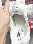 Чоловічі кросівки New Balance 574 (білі) 393PL, фото 2