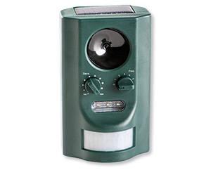 Отпугиватель животных Garden line SO-745 на солнечной батарее с выбором частоты
