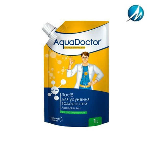 Альгицид AquaDoctor AC Mix, 1 л дой-пак