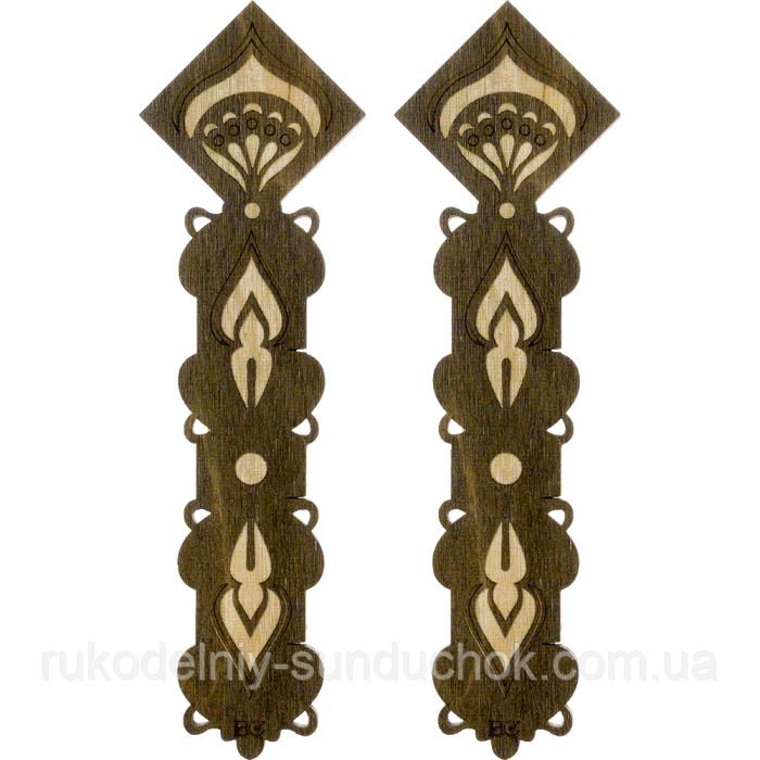Бобіни (шпулі) для муліне дерев'яні ТМ Чарівна країна FLC-098(S)