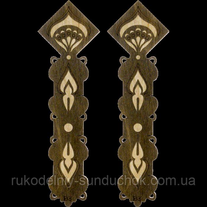 Бобины (шпули) для мулине деревянные ТМ Волшебная страна  FLC-098(S)