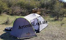 Двухслойная палатка 4-х местная туристическая Green Camp 1009, фото 3