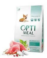Сухой корм Optimeal (Оптимил) для щенков всех пород с индейкой  4 кг