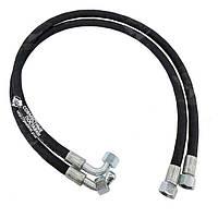 РВД ключ S-24 1,5 метра 1SN угол 90 DN=10 мм (рукав высокого давления)