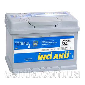 Автомобильный аккумулятор INCI AKU 6СТ-62 FormulA  LB2 062 054 013