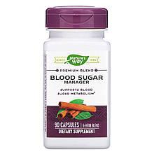 "Комплекс для метаболизма сахара в крови Nature's Way ""Blood Sugar Manager"" (90 капсул)"