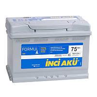 Автомобильный аккумулятор INCI AKU 6СТ-75 FormulA  L3 075 070 013