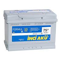 Автомобильный аккумулятор INCI AKU 6СТ-75 FormulA  L3 075 070 113