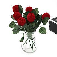 Роза коробочка для кольца! Коробка футляр для ювелирных изделий в форме розы! Шкатулка!, фото 1