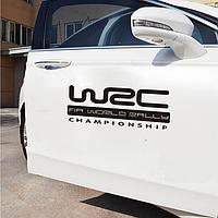 Виниловые наклейки на авто WRC
