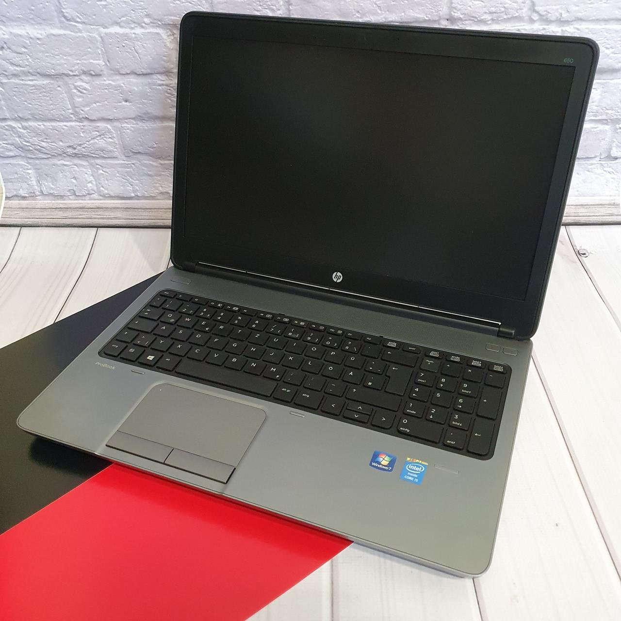 Ноутбук HP ProBook 650 15( Intel Core I5-4200m / 4x3.10GHz/ 8Gb DDR3/HDD 320Gb/HD 8750)