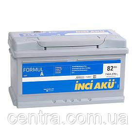 Автомобильный аккумулятор INCI AKU 6СТ-82 FormulA  LB4 082 074 013