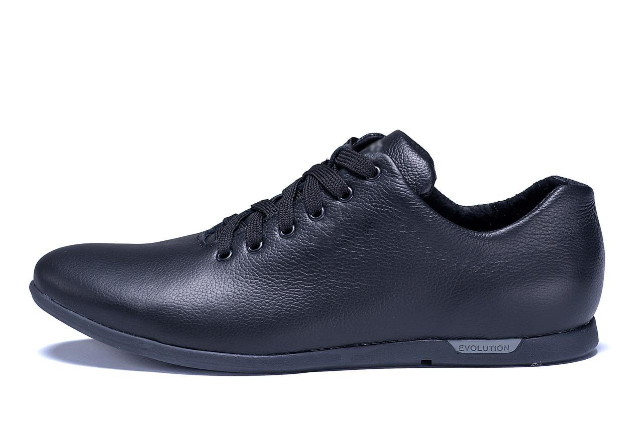 Мужские кожаные кроссовки  Е-series Soft (реплика)