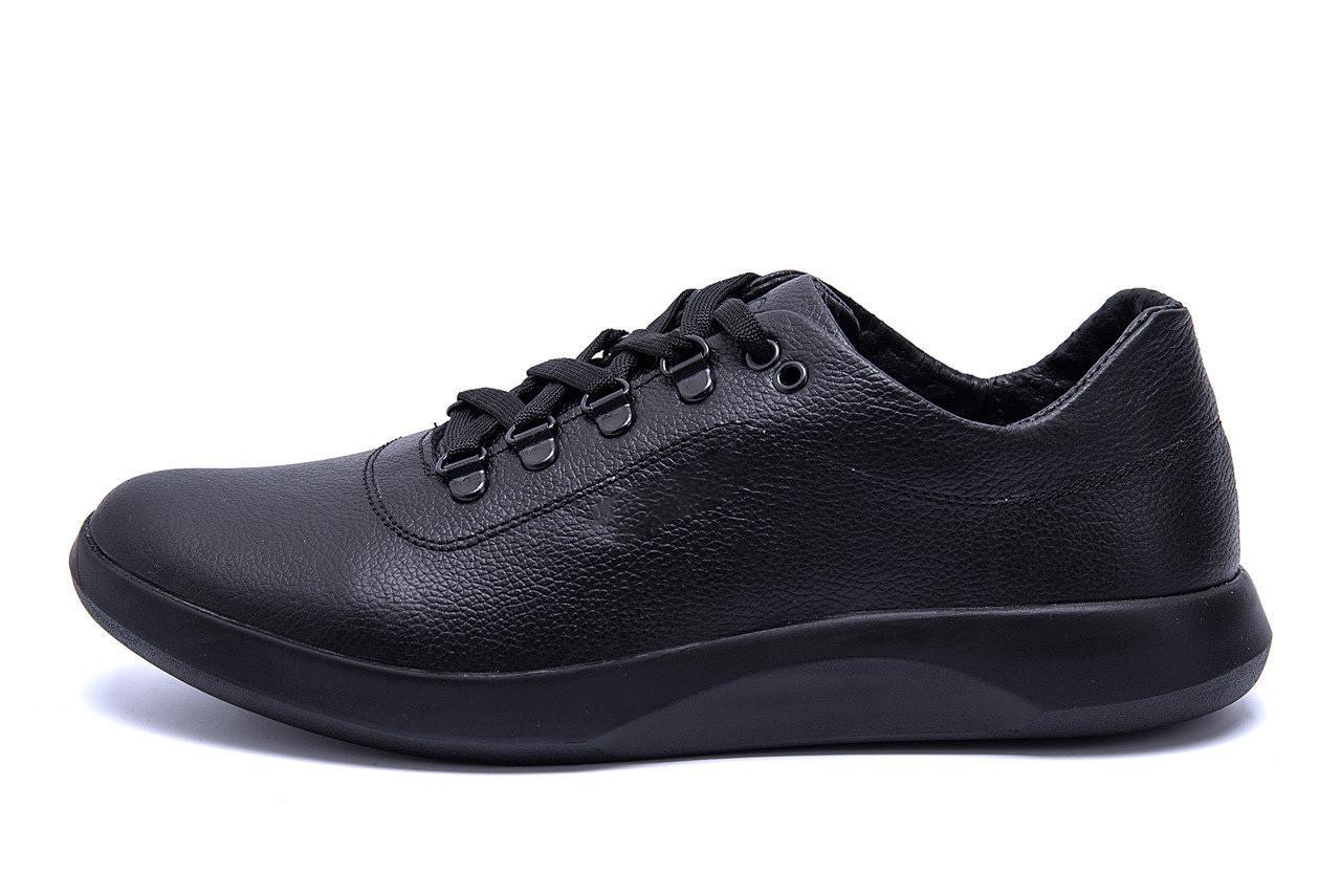 Мужские кожаные кроссовки  Е-series old school (реплика)