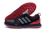 Мужские кожаные кроссовки Adidas A19 Red Star (реплика), фото 5