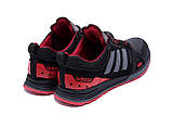 Мужские кожаные кроссовки Adidas A19 Red Star (реплика), фото 6