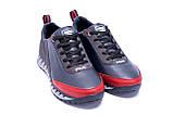 Мужские кожаные кроссовки FILA Tech Flex Blue (реплика), фото 3