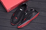 Мужские кожаные кроссовки Puma  Red Star (реплика), фото 10
