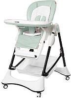 Детский стульчик для кормления Carrrello Stella (зеленый цвет)